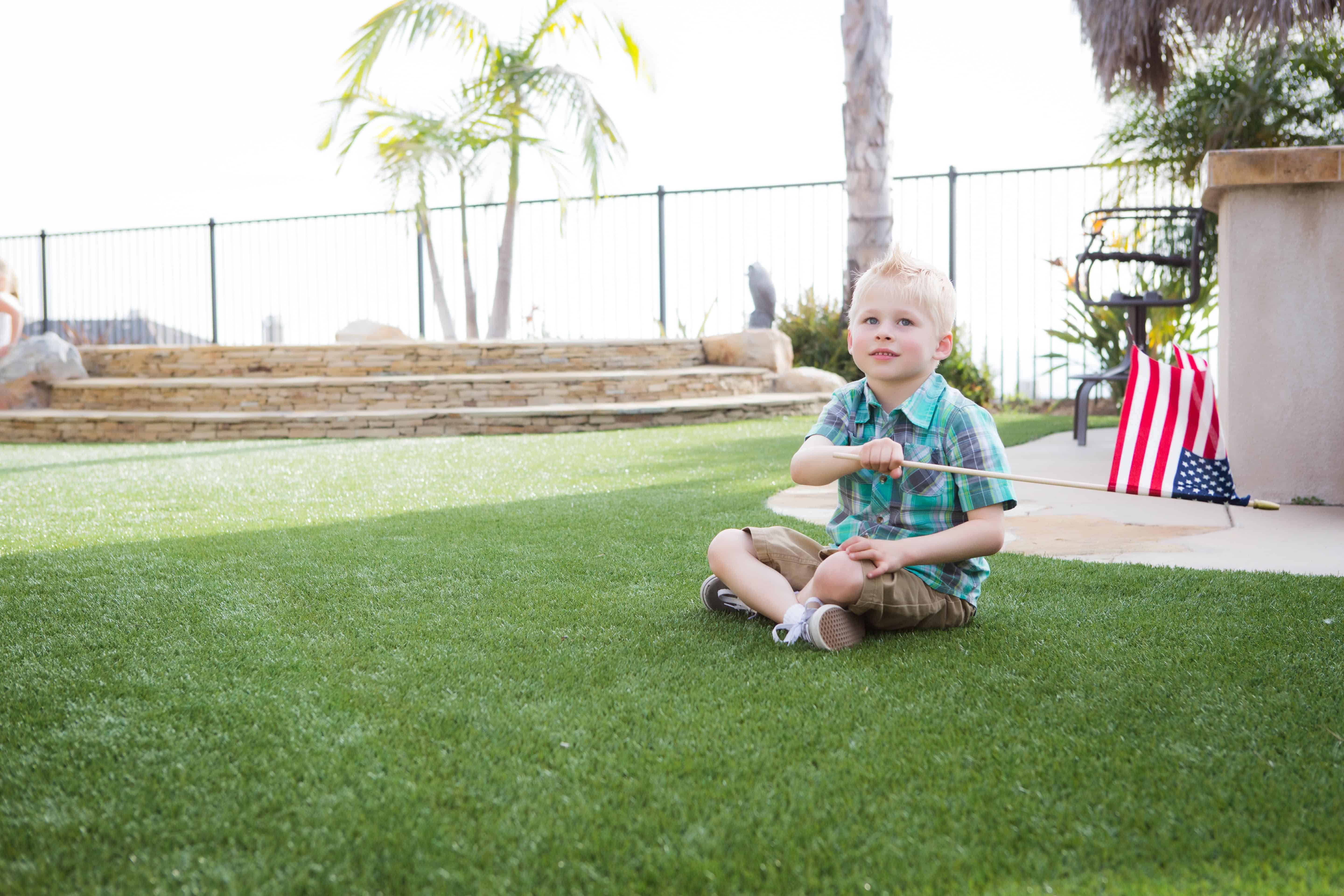 keep your kids safe happy and clean with artificial turf